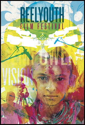2011-12 Reel Youth Film Festival flyer front